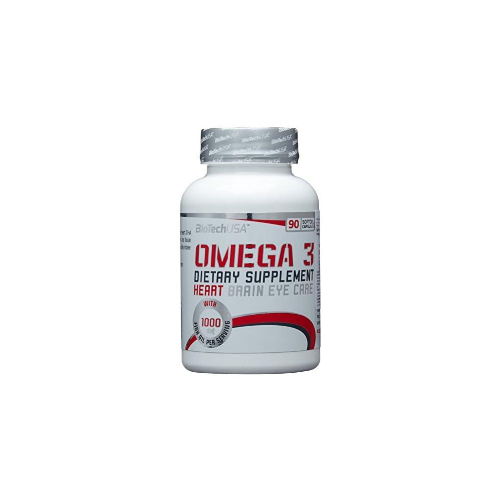 Biotech Usa Omega 3 90 Kapseln 1er Pack 1 X 65 G