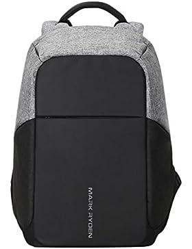 Umhängetasche Männer Multifunktions-Paket Anti-Diebstahl Reise Freizeit Business-Computer Taschen Schultasche