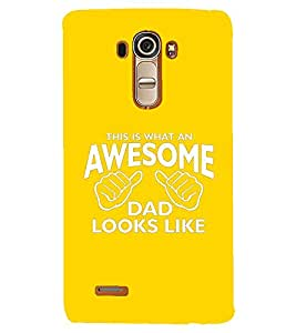 PRINTSHOPPII AWESOME QUOTES Back Case Cover for LG G4::LG G4 H815