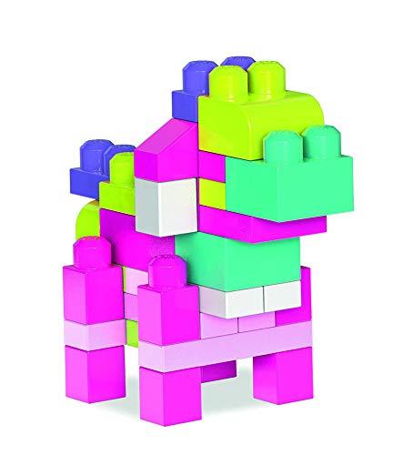 Mega Bloks Juego de construcción de 60 piezas, bolsa...