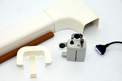 pompe à condensat sauermann si-10 - 20l/h - avec goulotte 80 x 50 mm