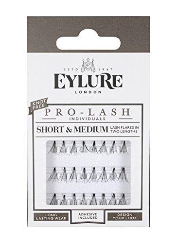 Eylure Individual Semi Permanent Lashes Black Short/ Medium and Long Length Mini Pack by Eylure (Individual Eylure Lashes)