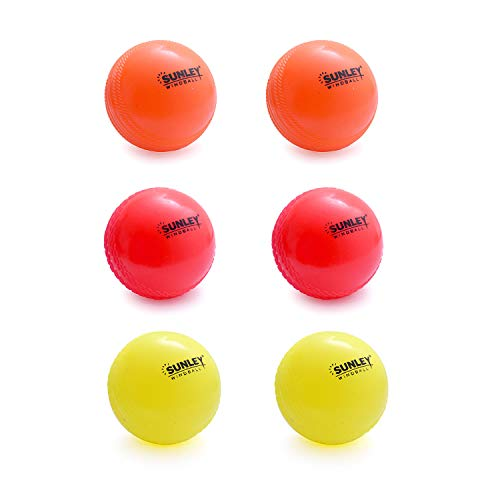 Sunley Multicolor Wind Ball for Cricket (6)