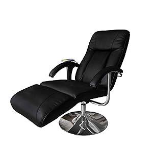 Vidaxl Massage Und Relaxsessel Elektrisch Schwarz
