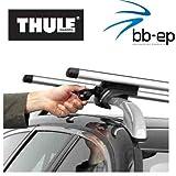Thule aluminio Premium Baca/Last portaequipajes para Kia Carens (MK II) 5puertas combinado Diseño Año 2002hasta 2006con techo Alcance normal–Sistema completo compuesto de Thule 757y Thule 860