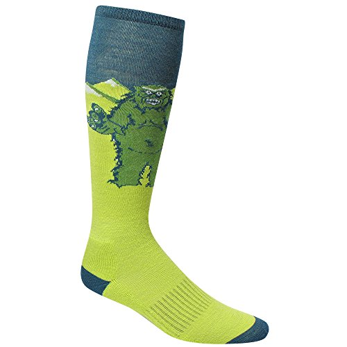 Wigwam Damen Snow Monster Socken, Majolic Blue, Size UK 5-8/EU 37-42 (Blue Monster Aus Monsters Inc)