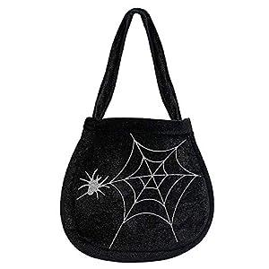 WIDMANN?Bolso Telaraña y araña de terciopelo Womens, Negro, talla única, vd-wdm8173W