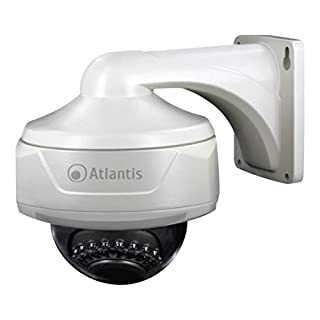 Atlantis Land V600D-30W CCTV security camera Innen & Außen Verdeckt Weiß 752 x 582Pixel - Sicherheitskameras (CCTV security camera, Innen & Außen, Verdeckt, Weiß, Wand, Wasserfest)