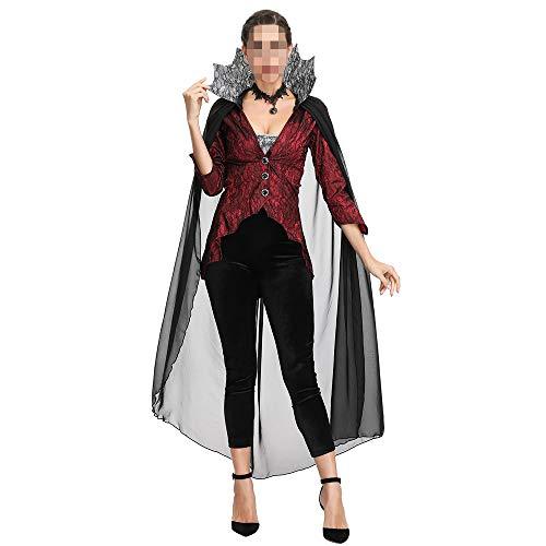 YyiHan Halloween Kostüm, Outfit Für Halloween Fasching Karneval Halloween Cosplay Horror Kostüm,Halloween Kostüm Vampir Dämonenkönigin Kostüm Cosplay Cosplay Schwarze Witwe - Schwarze Witwe Kostüm Sexy