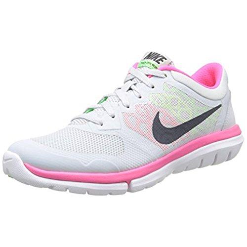 de Chaussures Hmtt RN Pr Hy Plateado 2015 Vltg Mtlc Grn Pltnm Flex Nike Wmns Running Femme Entrainement Onq4ABXx