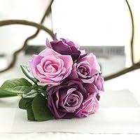 Fiori artificiali bouquet di rose di