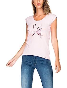 Salsa Camiseta Teñida y Estampada