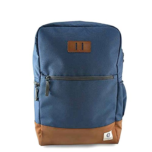 Ridgebake Zaino Neville Navy/Brown blu brun Backpack