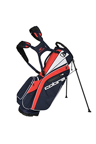 Cobra Golf 2018 Ultralight Ständer Tasche, One size, Peacoat/High Risk - Cobra Bag Stand