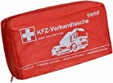 KALFF 23505 KFZ-Verbandtasche Kompakt, Inhalt DIN 13164, schwarz
