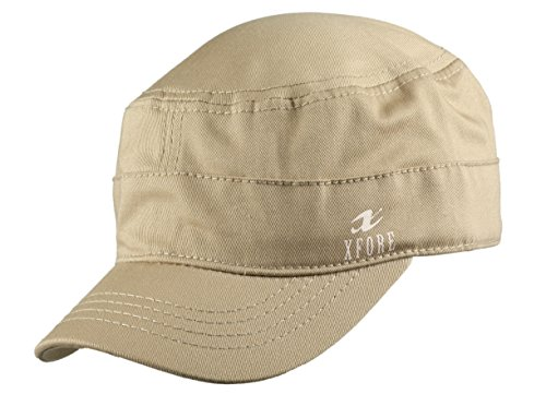 XFORE Golf Kappe Army Cap Bristol, in Sand, unisex (Band Cap Army)