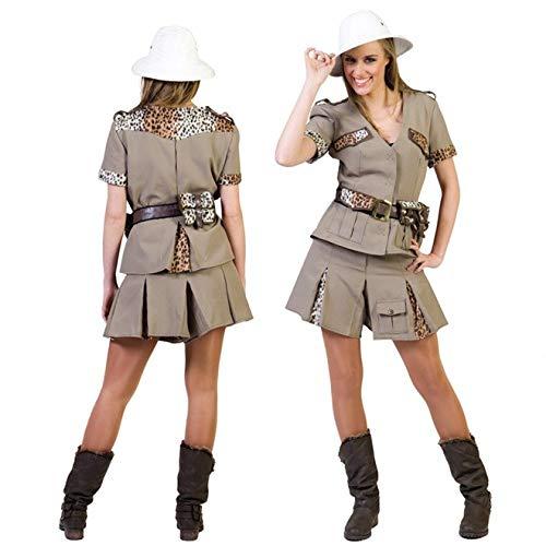 Costume esploratrice della giungla, da donna
