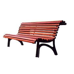 Mes-meubles-jardin - Banc Plaza Real fonte et bois
