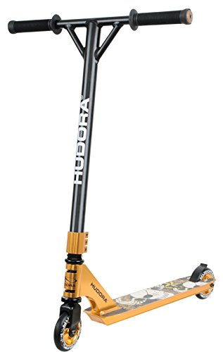 HUDORA Stunt-Scooter XR-25 gold -14027 - Freestyle Tretroller