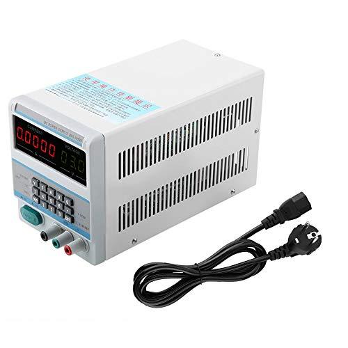 Fuente de alimentación de CC, DPS-305BF Fuente de alimentación regulada de voltaje estabilizado de CC digital 30V 5A herramientas eléctricas Fuente de alimentación de CC(UE)