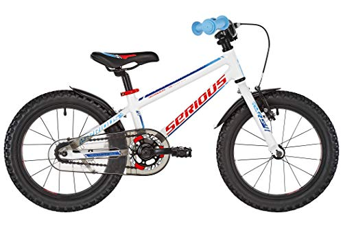 "SERIOUS Superhero 16"" White/Blue 2019 Kinderfahrrad"