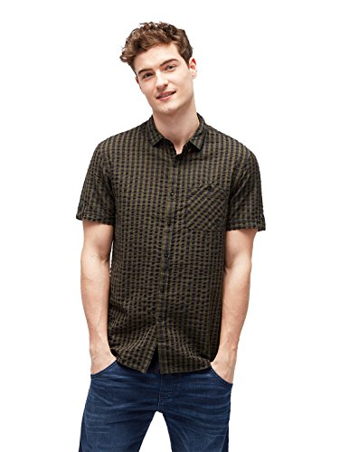Preisvergleich Produktbild TOM TAILOR Hemd Freizeithemd 2055442.99.12 7807 (L)