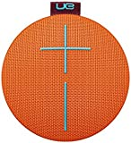 Ultimate Ears ROLL 2 Bluetooth Speaker Ultraportable with Floatie, Waterproof and Shockproof - Orange/Red/Brown