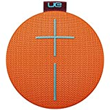 Ultimate Ears ROLL 2 Enceinte Bluetooth Ultraportable avec Flotteur, Waterproof et Antichoc - Orange/rouge/marron