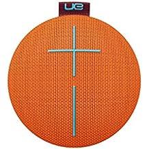 UE ROLL 2 - Altavoz Bluetooth ultraportátil (impermeable, resistente a golpes, con flotador), color naranja