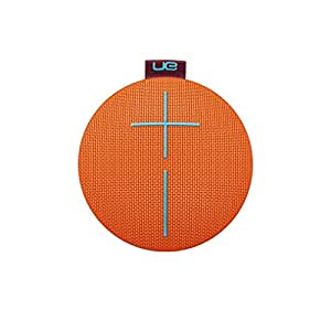 UE ROLL 2 Bluetooth-Lautsprecher (Wasserdicht, Schlagfest, Habanero – mit Schwimmhilfe) orange