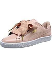 finest selection b4475 7de42 Puma Basket Heart Patent, Baskets Basses Femme