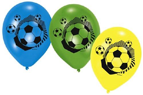 6 Luftballons Fußball Party Kindergeburtstag\n6 Luftballons Fußball Party Kindergeburtstag