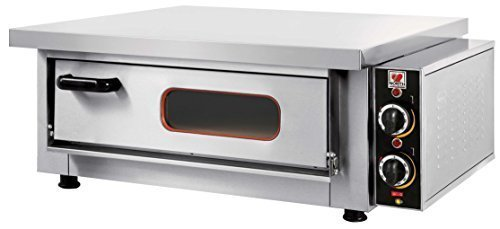 North Pro F65A Commercial Electric Pizza Oven with Fire Resistant Plate - 4 pizzas �300mm (230V-AC / 400V-2N-AC-50Hz) (Made in Greece)