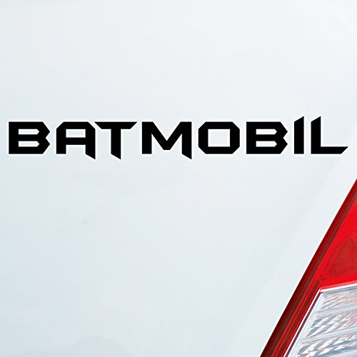 iner Wunschfarbe Batmobil für Batman Fans Joker Comic Dark Knight 19x2,5 cm Autoaufkleber Sticker (Batmobile Batman)