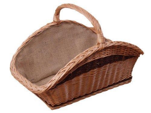muebles en línea Cesta de fuego _ Canasta de madera _ Cesta de mimbre _ mano trenzado canasta de sauce