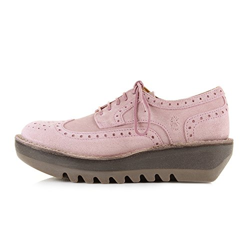 Fly London Womens Jane Suede Shoes Pink