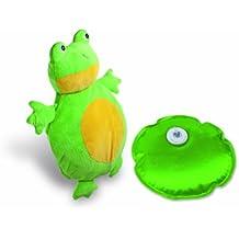 MACOM Enjoy & Relax 907 La Boule Froggy ricaricabile senza fili con simpatica e morbidissima copertura a forma di