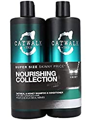 Tigi Catwalk Oatmeal & Honey Nourishing Duo Pack (Shampoo 750ml und Conditioner 750ml)