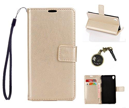 Preisvergleich Produktbild PU Silikon Schutz hülle Handyhülle Painted pc case cover hülle Handy-Fall-Haut Shell Abdeckungen für Sony Xperia Z3 (5,2 Zoll (13,2 cm) +Staubstecker (7DD)