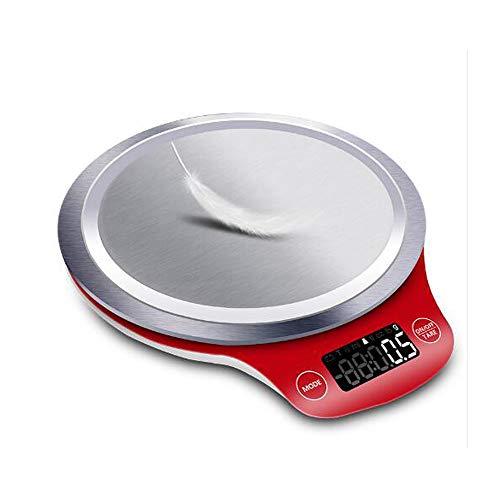 DuDuDu Poids de Balance Balance Cuisine Mesure Outils en Acier Inoxydable Table électronique LCD numérique Balance Balance numérique 3000g / 1g