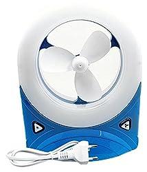 PERFECT SHOPO 28 Led Rechargeable Desk Portable Fan /Rechargeable Desk fan