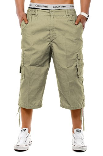 Mens Shorts MoSpace ID1263 (various colors), Farben:Beige;Größe-Shorts:XXXL