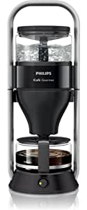 Philips HD5407/60 Café Gourmet Kaffeemaschine, schwarz, Direkt-Brüh-System