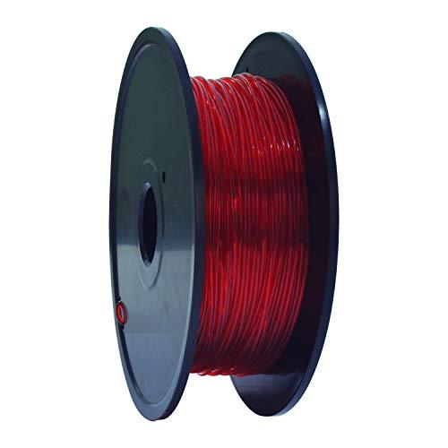 GEEETECH TPU Flexible filament 1.75mm Rot, 3D Drucker Filament 400g 1 Spool …
