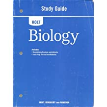 Holt Biology Study Guide 2008 by RINEHART AND WINSTON HOLT (2008-01-01)