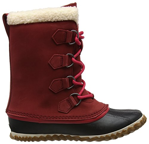 Sorel Caribou Slim, Stivali da Neve Donna Rosso (Red Element)
