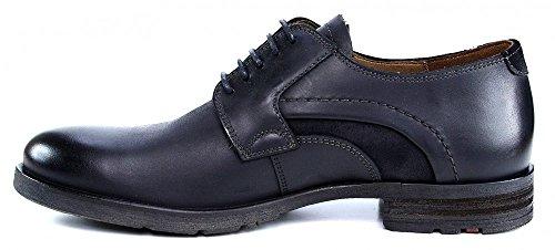 LLOYD DEACON 2556810 hommes Chaussures à lacets Noir
