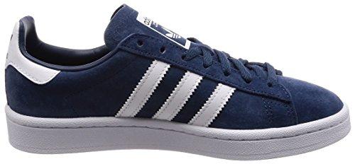 Campus Femme Sneakers Calzature Bianco minerale Blu Bianco Bleu Bassi Calzature Adidas Sfdxqg6S