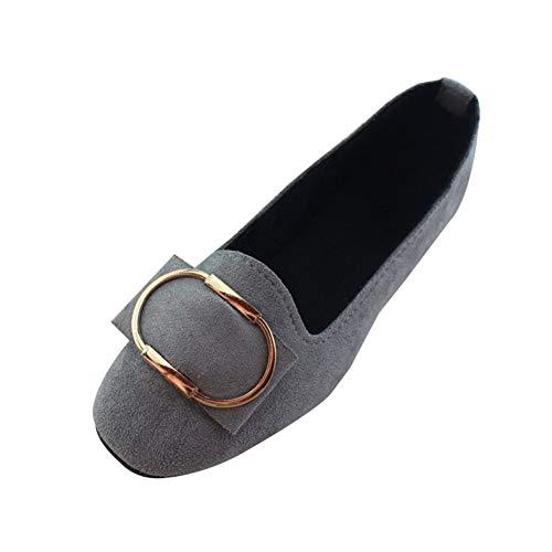 Zapatos de Vestir para Mujer Dama de Fiesta con Tacón Ancho Cómodos Boda Moda Calzado de Trabajo Planos...