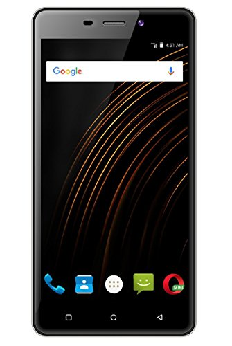 Xifo Allura Curve 4G Smartphone With 5-inch 1GB RAM And 16GB ROM (Reliance Jio 4G Sim Support) In Black Colour